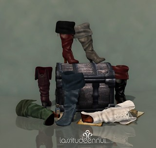 lassitude & ennui Buccaneer boots preview
