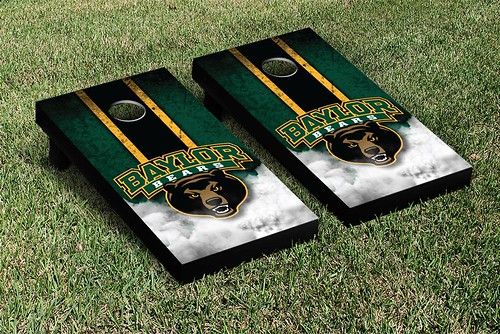 Baylor Bears Cornhole Game Set Vintage Version