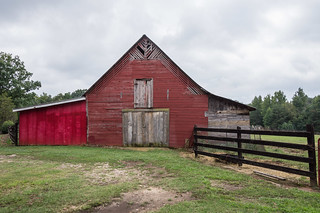 Classic red barn - 2