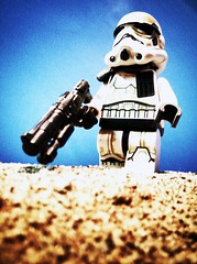 Bringing order and security to our lawless Tatooine, Imperial Sandtroopers. Please show them your support!