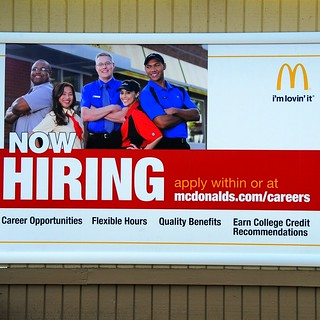 McDonald's Now Hiring