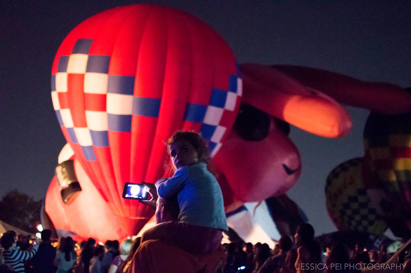 balloon glow 2014 people st louis stl