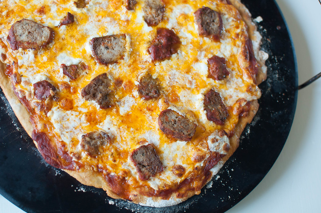 Meatball Pizza 4