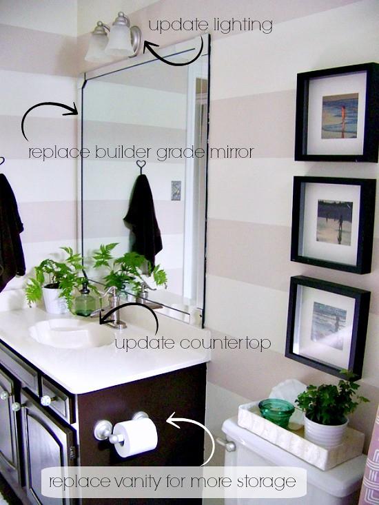 Hi Sugarplum | Bathroom Remodel Plans