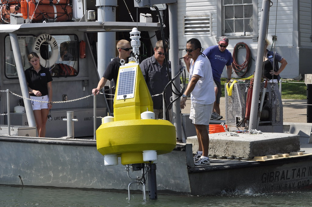 Water Quality Buoy Deployed