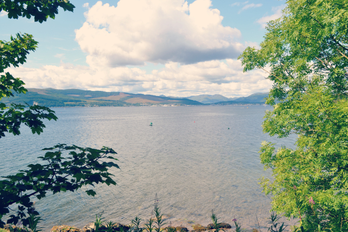 view of clyde from inverkip