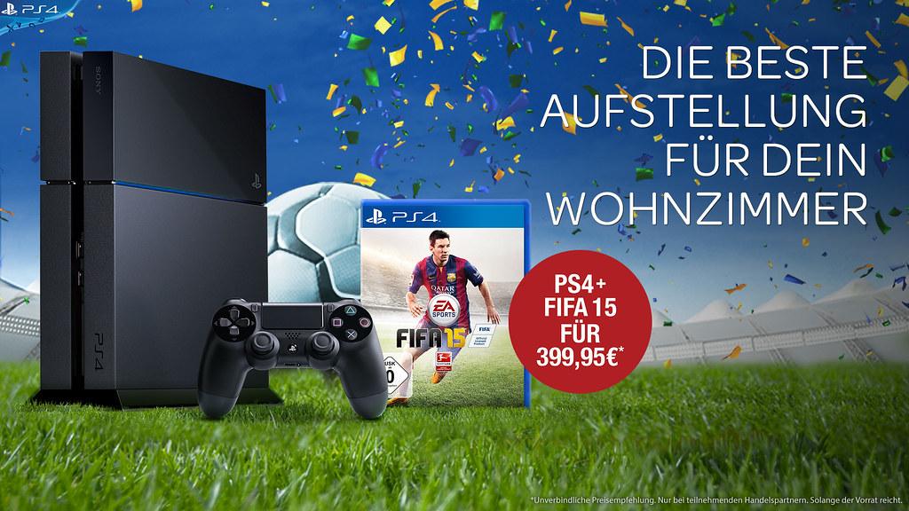 FIFA 15 PS4 Aktion