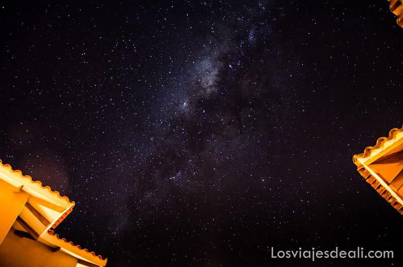 fotografiar estrellas