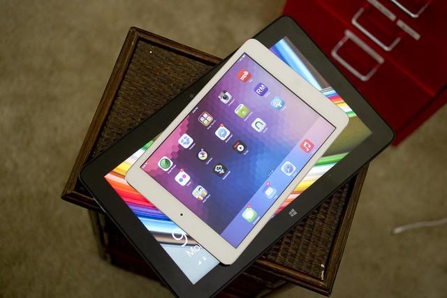 Dell Venue 11 Pro iPad comparison