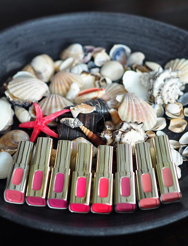 stylelab beauty blog LOreal Color Riche Extraordinaire lipsticks 1a