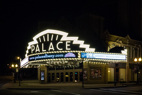 Albany - Palace Theater Marquee