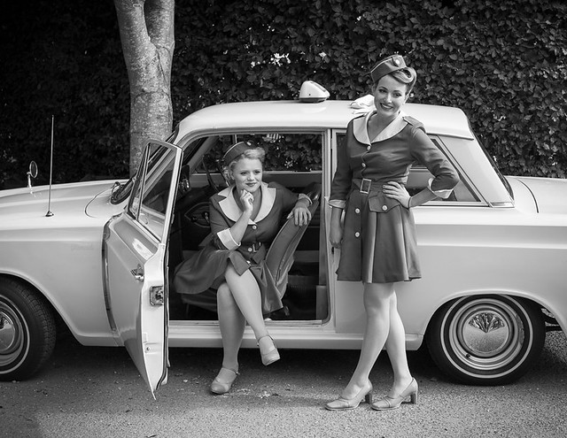Glamcab Taxi Girls - Goodwood Revival