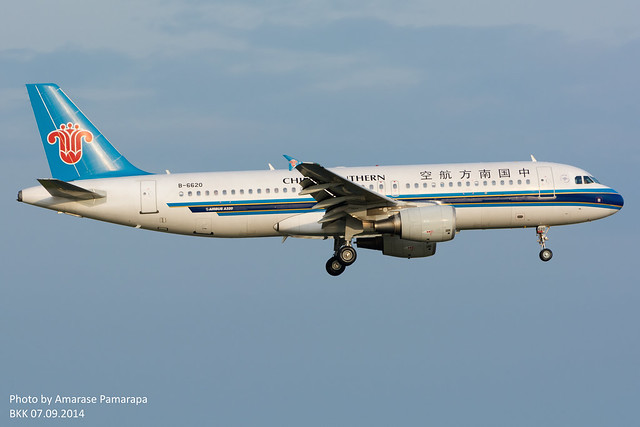 B-6620 // China Southern Airlines Airbus A320-214