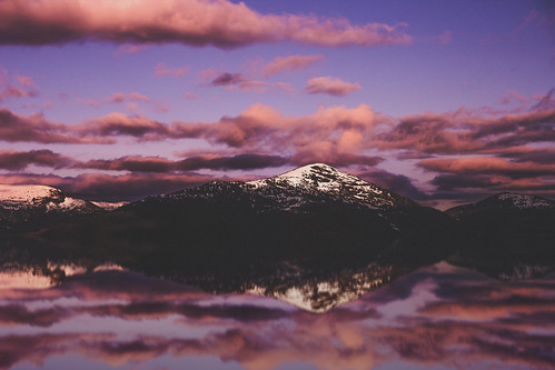 ocean pink sunset snow mountains water beautiful alaska sunrise canon reflections amazing skies scenic anthony papa