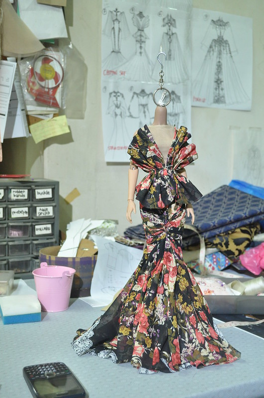 Sculpting and Draping Chiffon