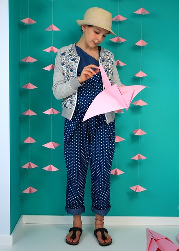 origami jumpsuit