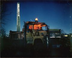 Dumped Truck