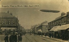 Zeppelin raid on Blyth, 14 April 1915