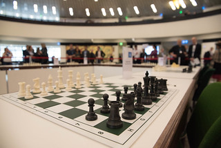 Exhibition of postal stamps from the collection of the world chess master Anatoly Karpov