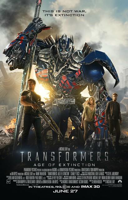 Phim Rô Bốt Đại Chiến: Kỷ Nguyên Hủy Diệt - Transformers: Age Of Extinction