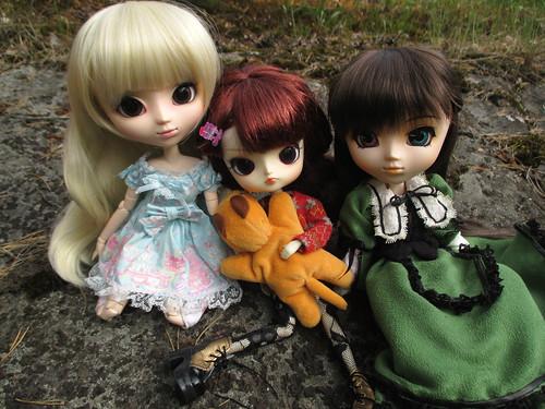 Lucia (romantic alice), Himeka (ra muw) & Suiseiseki