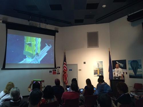 Dr. John Mather Speaks to NASA Social Attendees