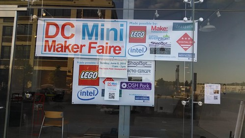 Party for Volunteers of DC Mini-Maker Faire