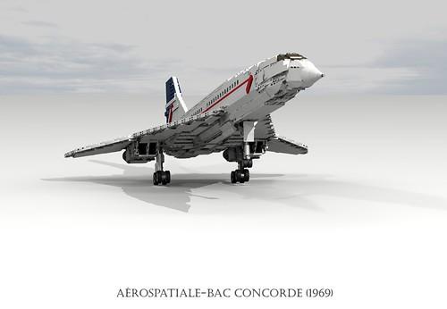 Aérospatiale-BAC Concorde (1969)