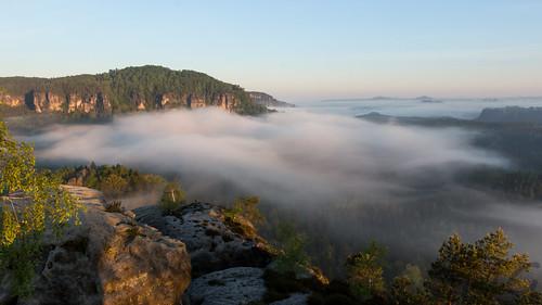 Above the fog - Hinteres Raubschloss