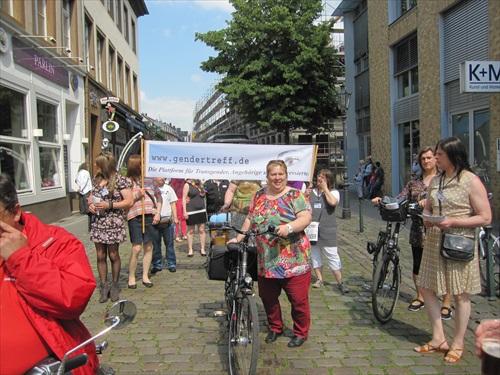 CSD Düsseldorf 2014 Gendertreff Demonstration 008