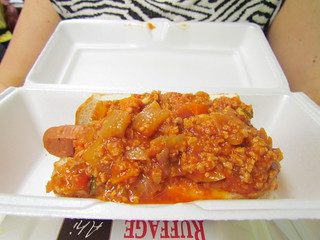 Vegan Chilli Dog at Ruffage
