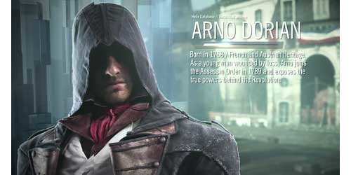 Assassin's Creed: Unity - Characters