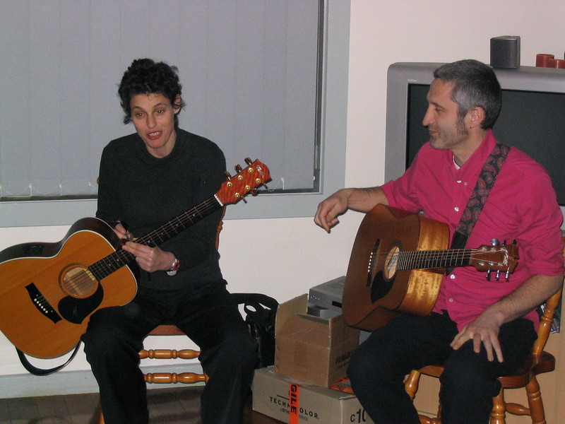 Deborah Conway and Willy Zygier, July 2004