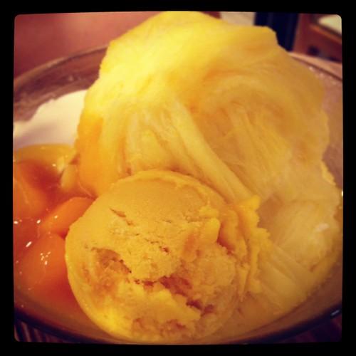 Mango mein mein ice