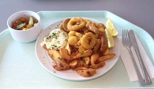 Calamari, Remoulade & Country Potatoes