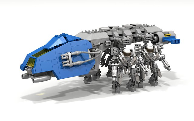 Neo Classic Space Dropship (Full Load)