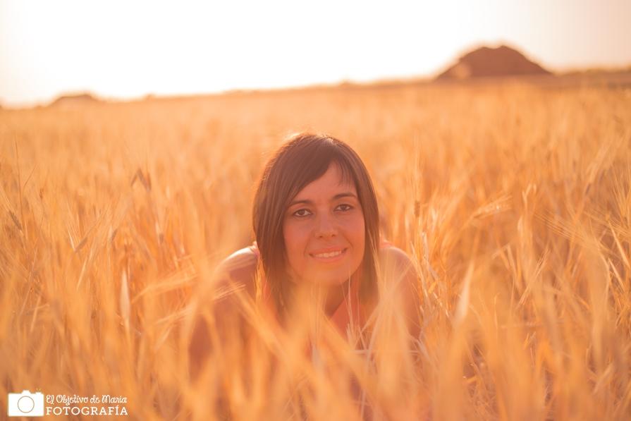 Retrato en el trigo