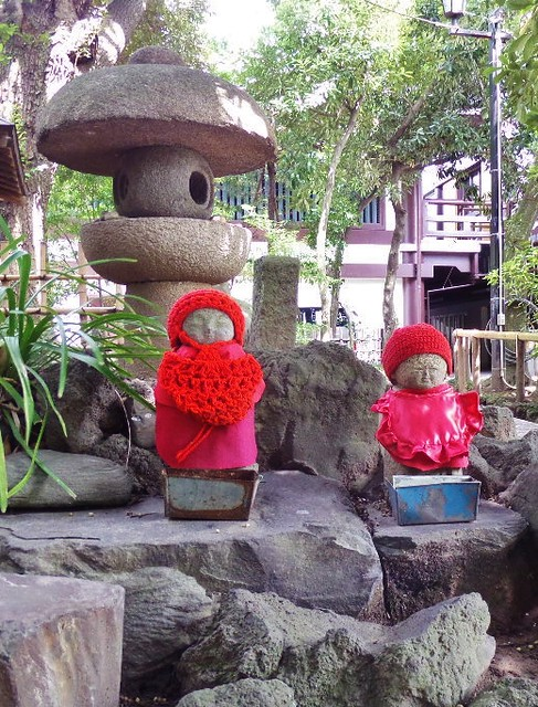Little Figures at Nishiarai Daishi temple