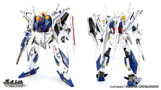 Comprehend HG Xi Gundam - Colored Prototype Shots