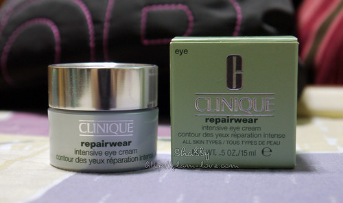 Clinique Repairwear Intensive Eye Cream 001