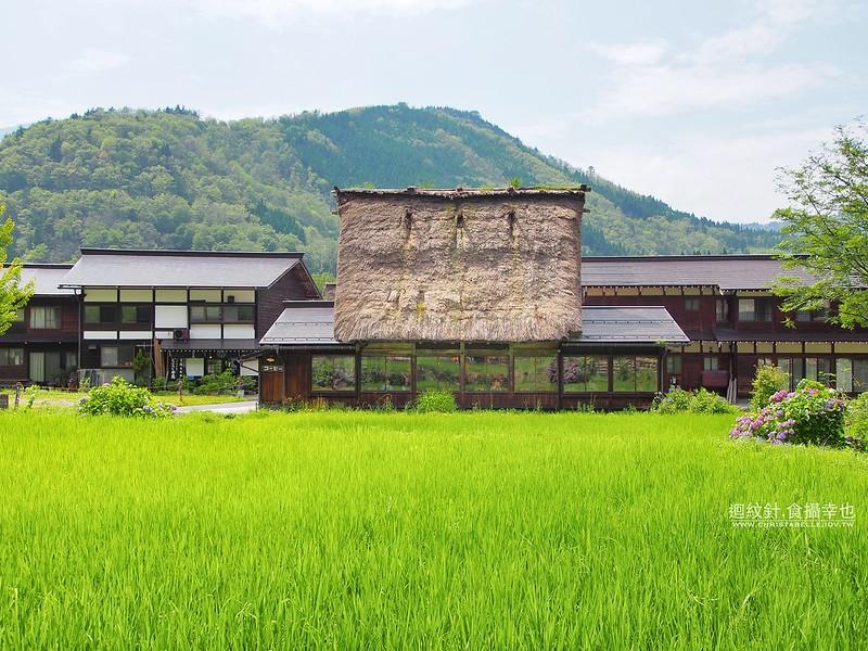 白川鄉合掌村的吃食