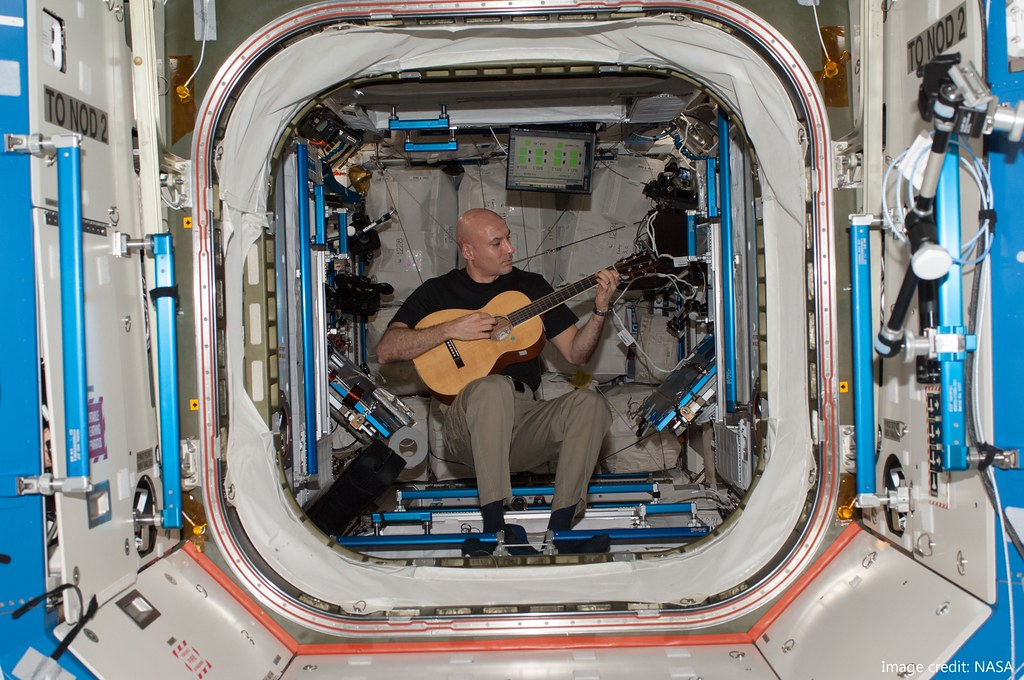 life of astronaut in space station - photo #15
