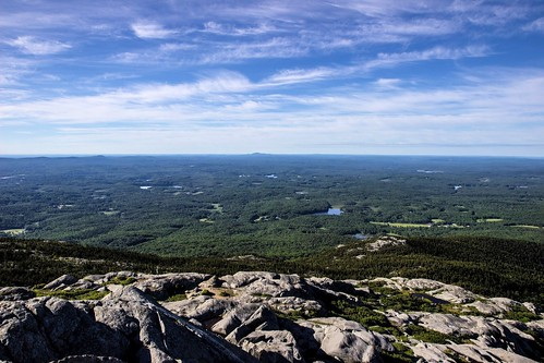 View from the Summit of Mt Monadnock