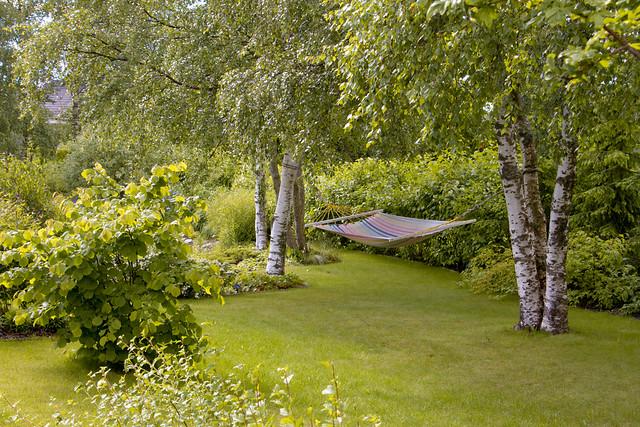 Hammock @ Nami-Nami garden. Võrkkiik Nami-Nami aias.