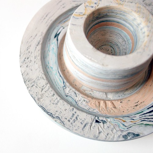 layered paper cup and bowl