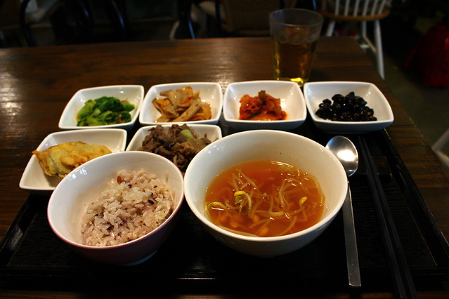 Korean breakfast - BnB126 Mansion