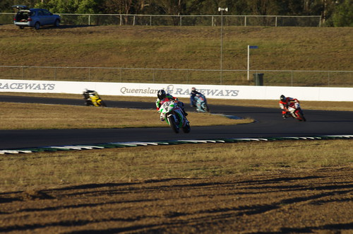 Electric motorcycle racing Qld 2014