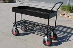 Modified Supermarket Stock Trolley