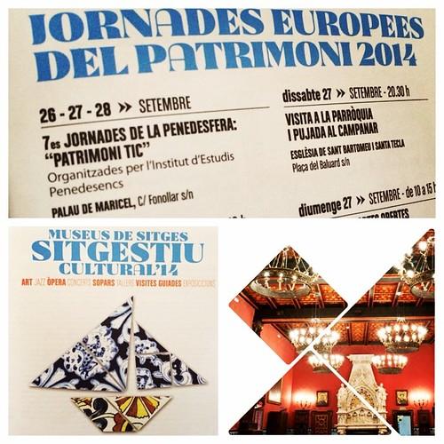 Les 7es Jornades de la @Penedesfera al #Sitges #Estiu #Cultural @CulturaPenedes @IEPenedesencs #JEPSitges14 #Penedesfera