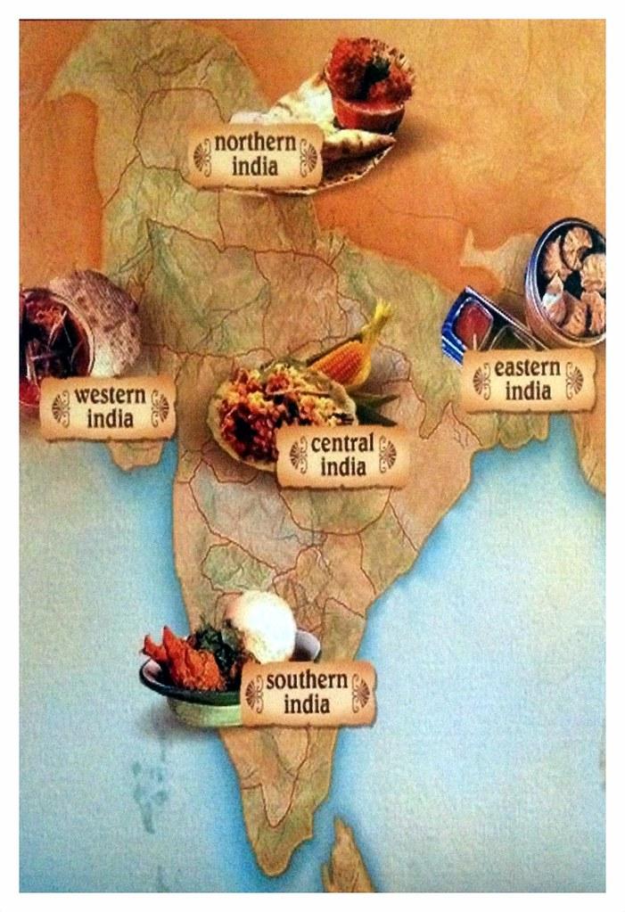 India Food Map Amiya Flickr
